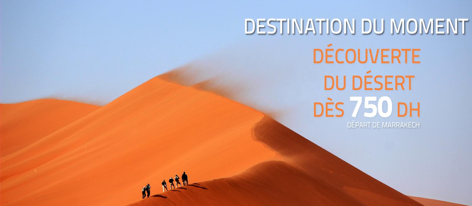 Les meilleures destinations désert