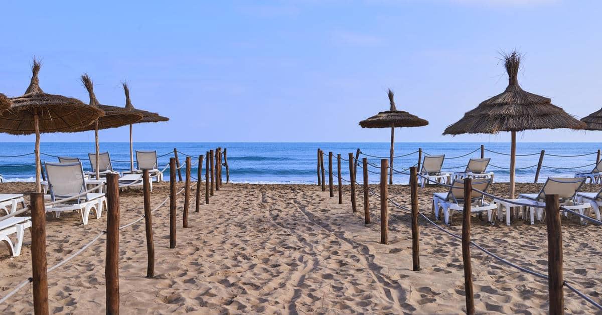 Melia Saidia Beach plage
