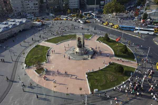 voyage organisé istanbul - Taksim square
